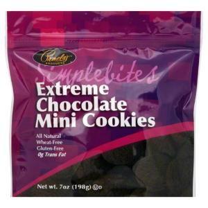 Pamelas Produ counts Extreme Chocolate Mini Cookies, 7 oz, - Pack of 6