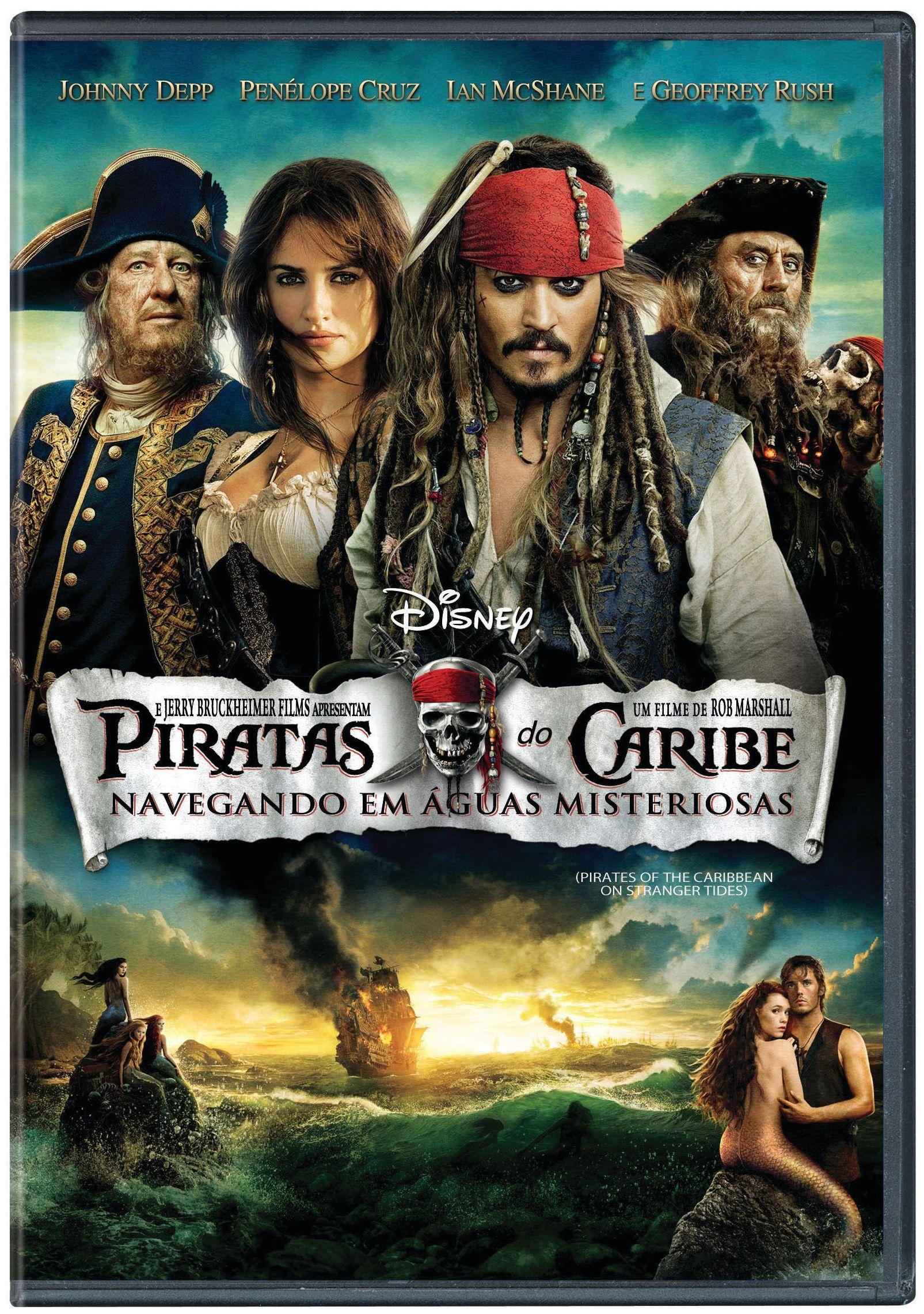 Piratas Do Caribe 4 Navegando Em Aguas Profundas Com Imagens