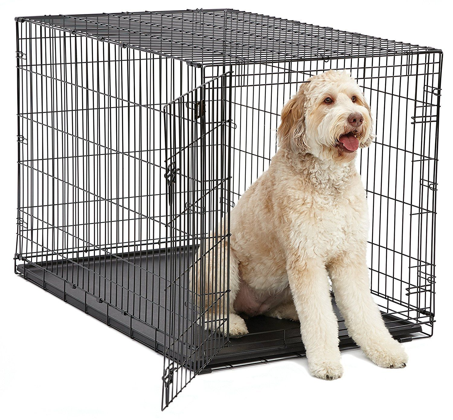 Midwest I Crates 48 Inch Crate For Large Standard Goldendoodles Labradoodles And Aussiedoodles Dog Crate Dog Cages Giant Dog Breeds