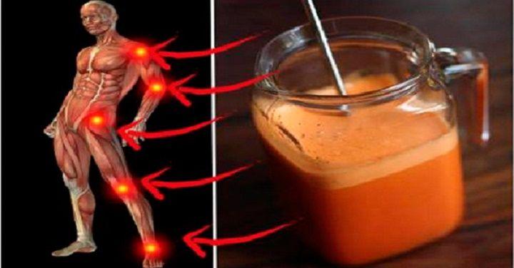 Bebida Superpoderosa Para Tratar Articulacoes Inflamadas E