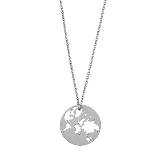 Photo of Beautiful World halskæde – sølv