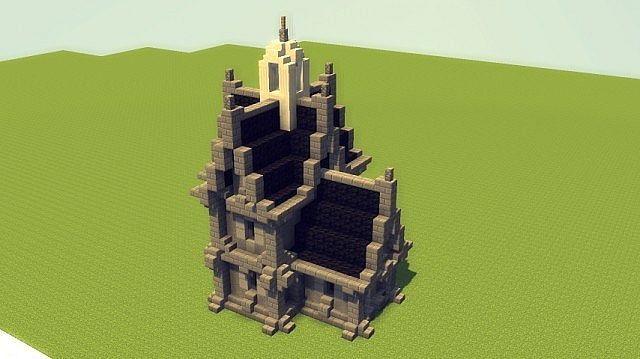Gothic Church Minecraft Project Minecraft Projects Minecraft Blueprints Minecraft