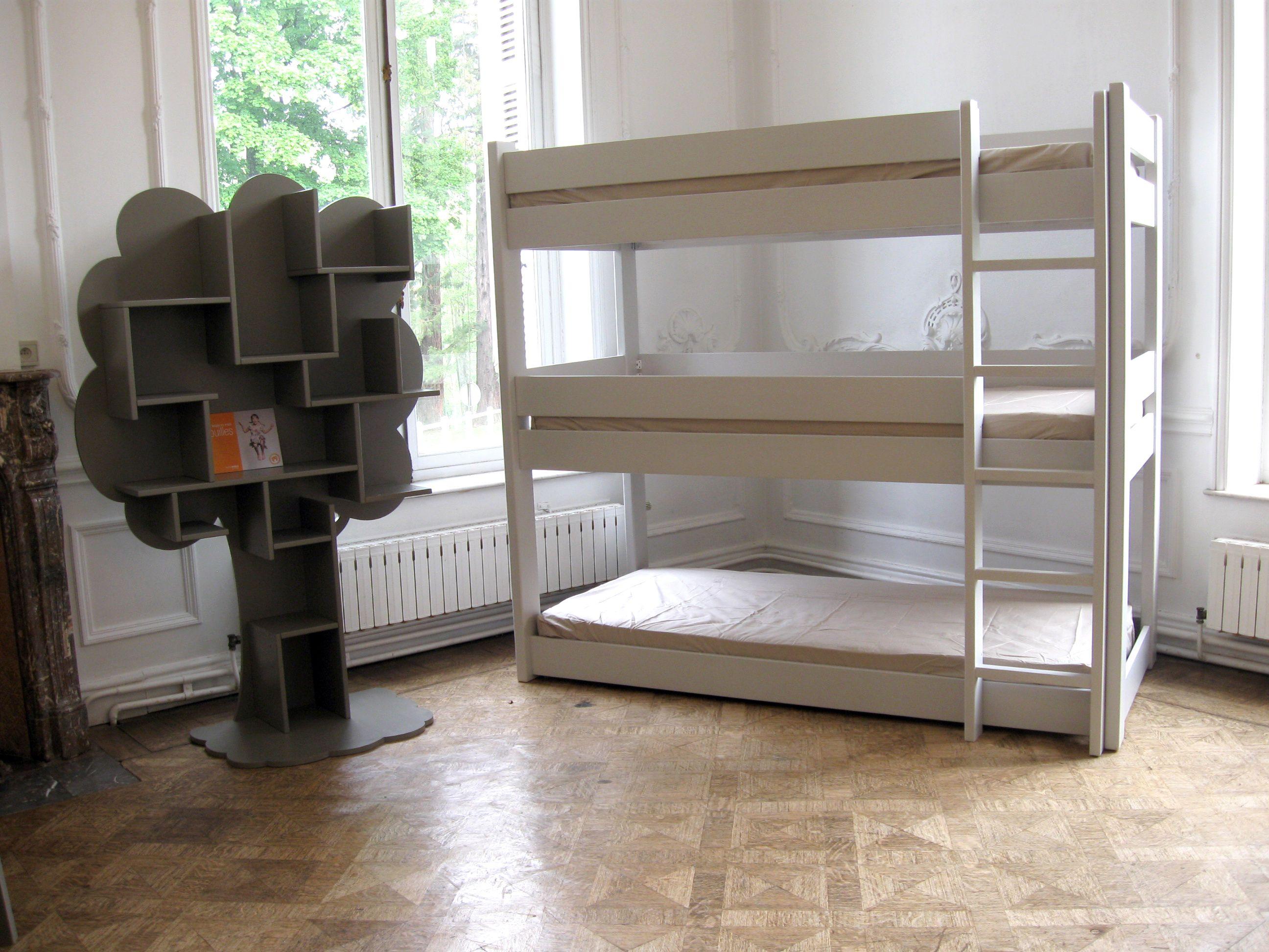 Dreier Etagenbett : Er etagenbett dominque h kinderzimmer