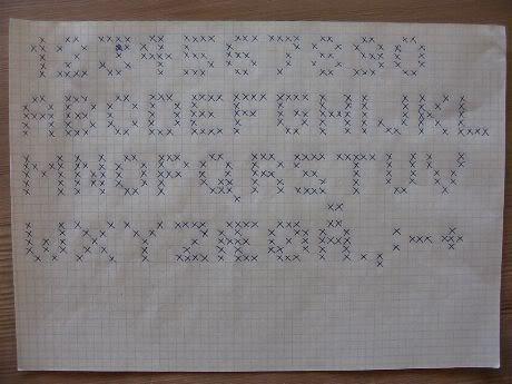 hvordan strikke mønster etter diagram