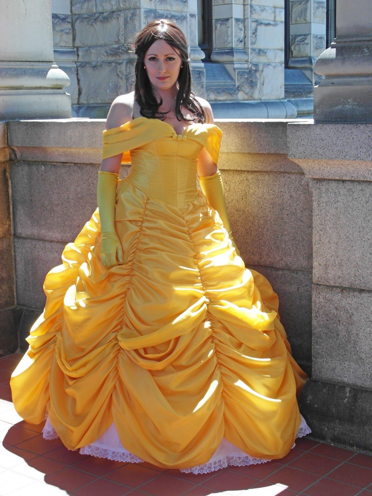 Belle S Blue Dress Costume