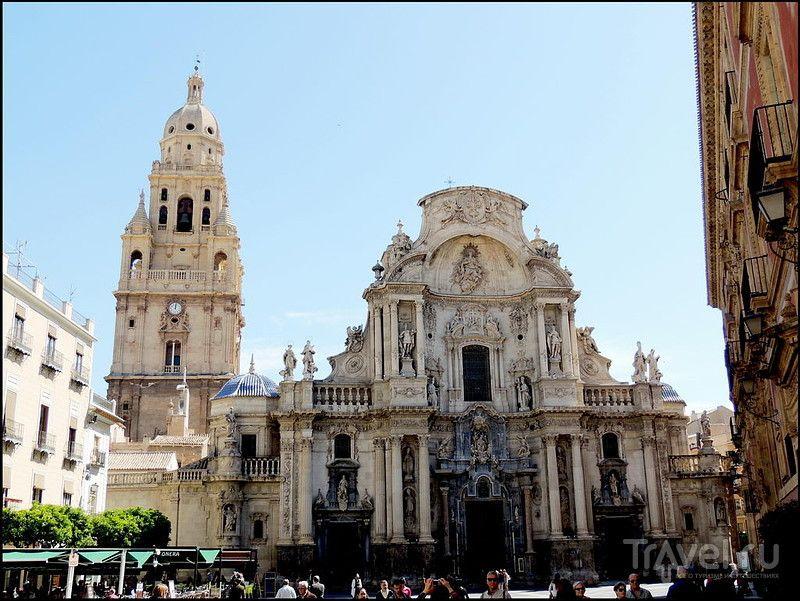 Мурсия - столица Мурсии. Испания. Palacio Episcopal, Catedral de Santa Maria