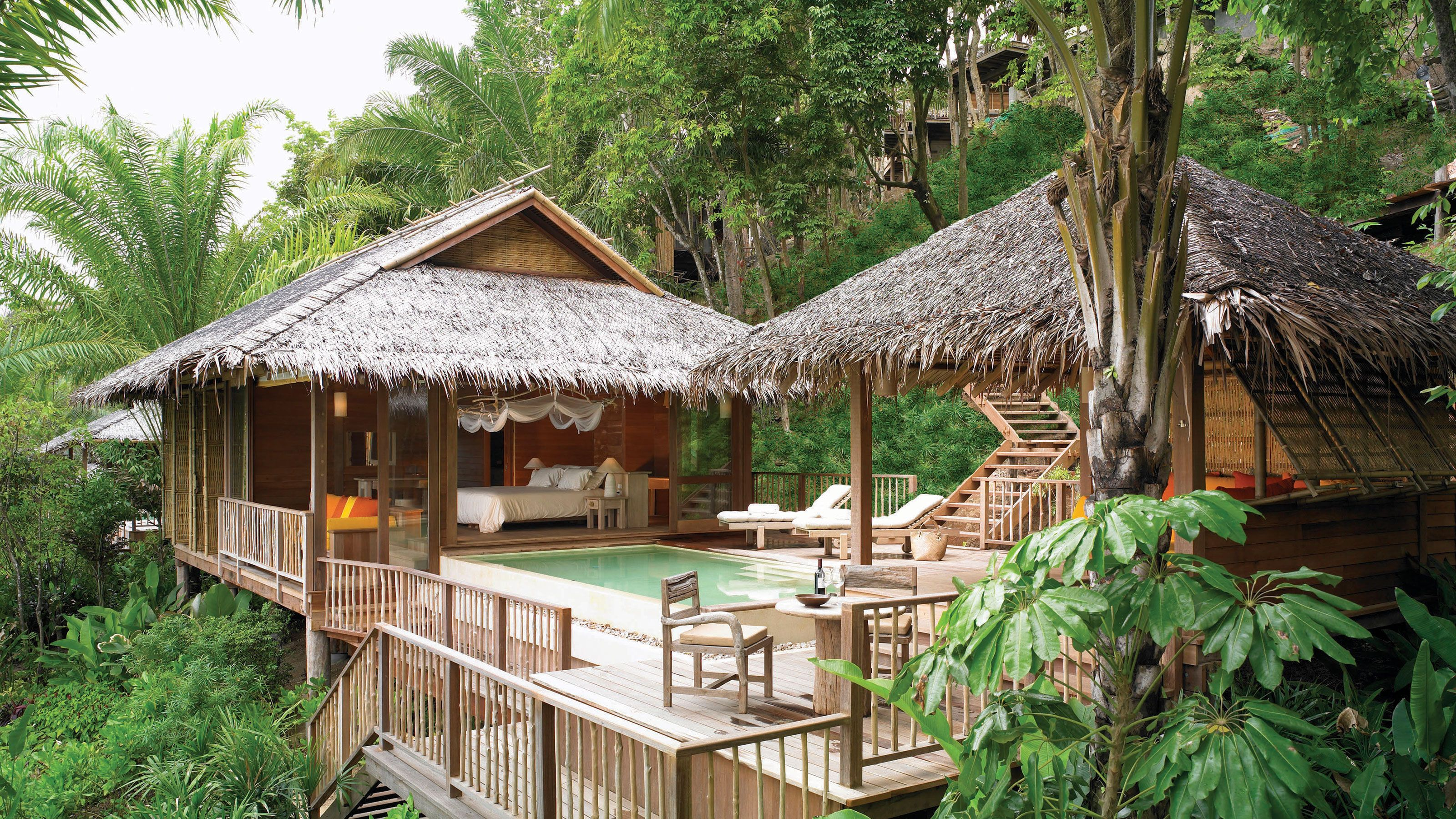 Best Hotels in Thailand Tree house, Tropical houses