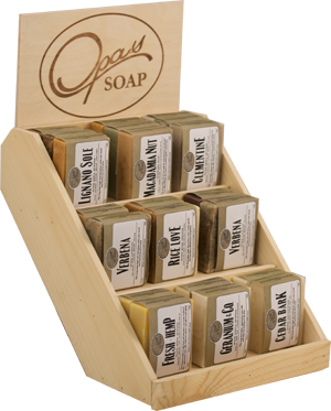 3 Tier Wooden Display Stand For Bath And Body Products Google Search