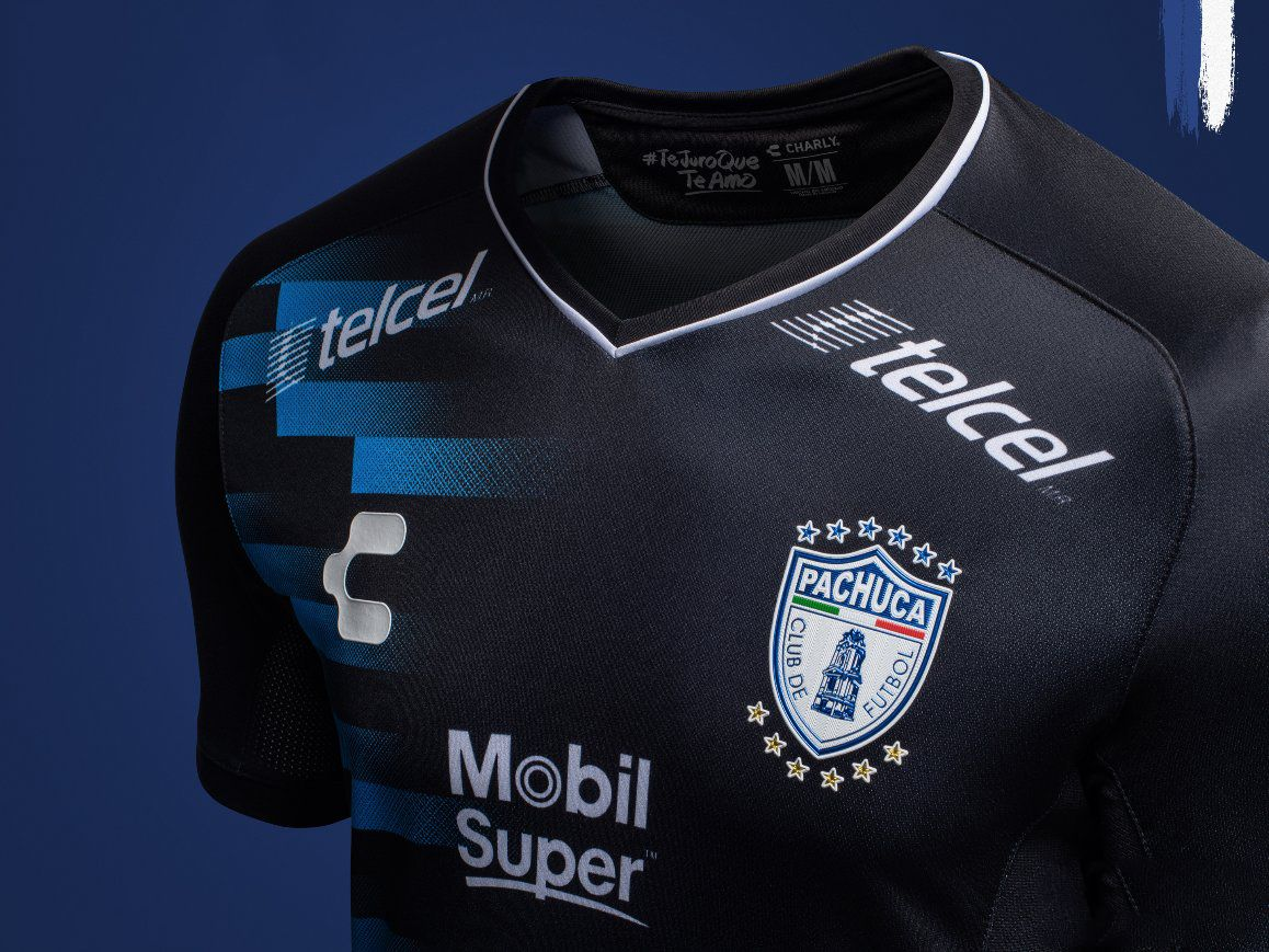 f09a79946 2019 的 18-19 CF Pachuca Away Black Jersey Shirt 主题
