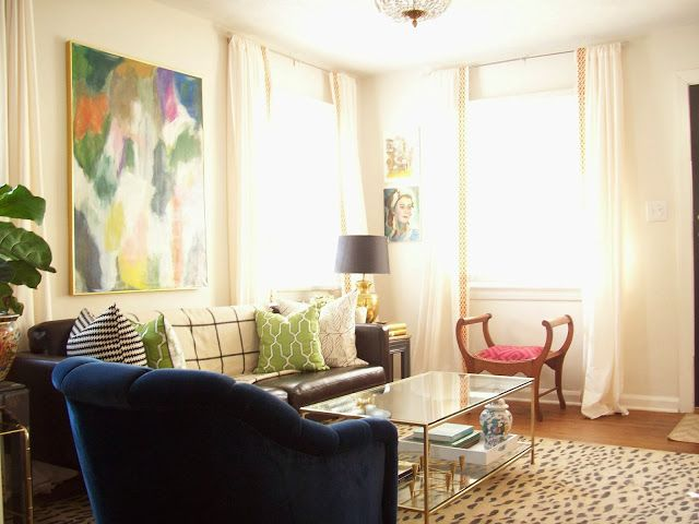 One Room Challenge The Reveal Beautiful Living Rooms Living