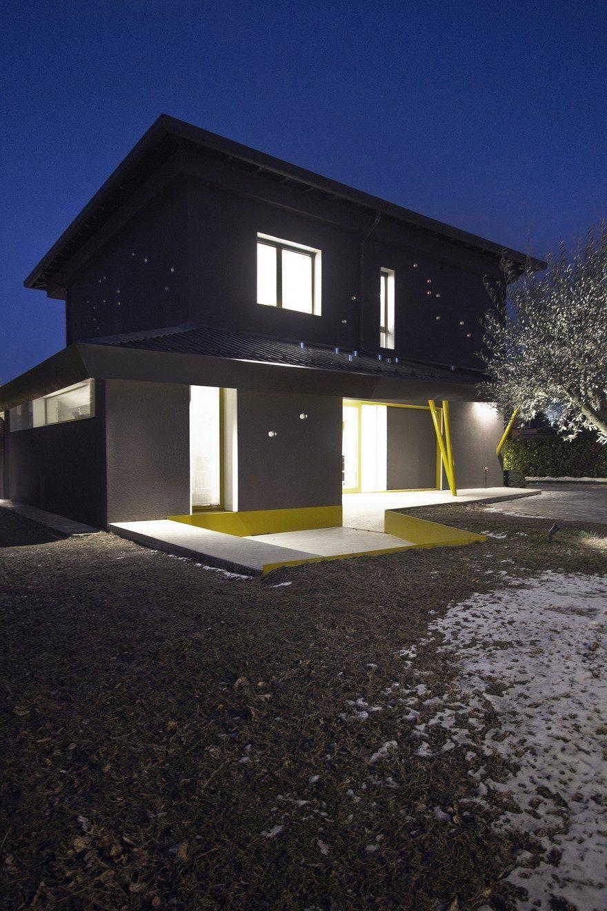 Architectural Restyling Of A Villa In Bulciago Italy