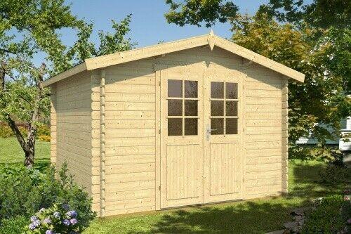 eBay Sponsored 34 mm Gartenhaus Greta ca.4x3m & Holz