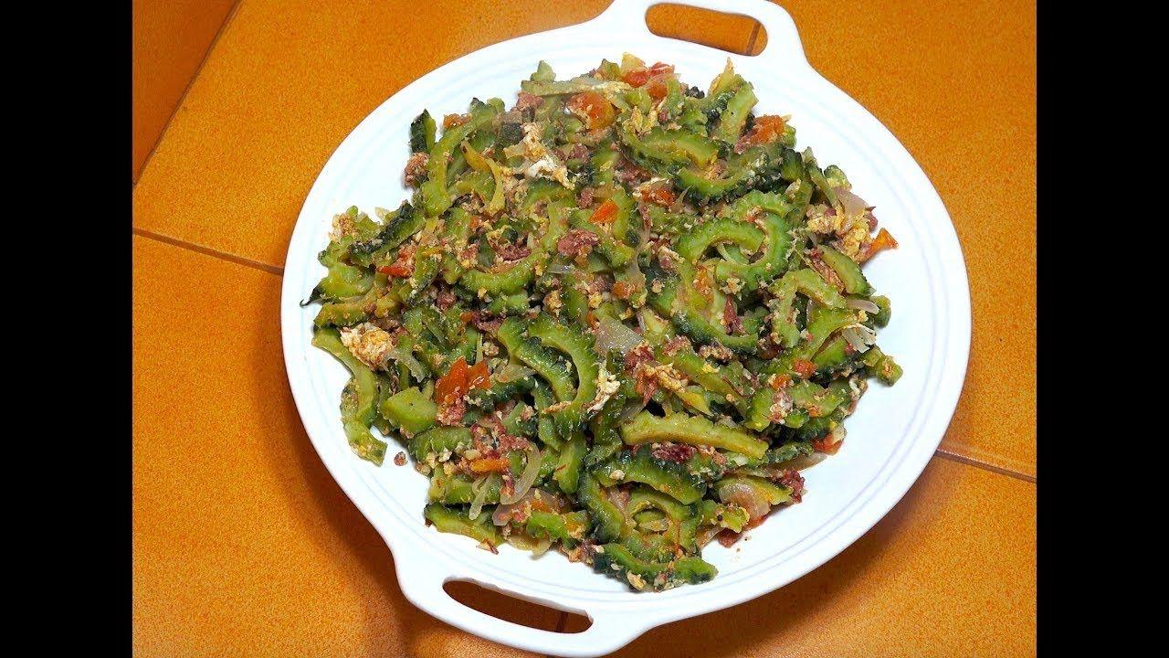 🔵 Ampalaya with Corned Beef - Pinoy Recipes - Filipino ...