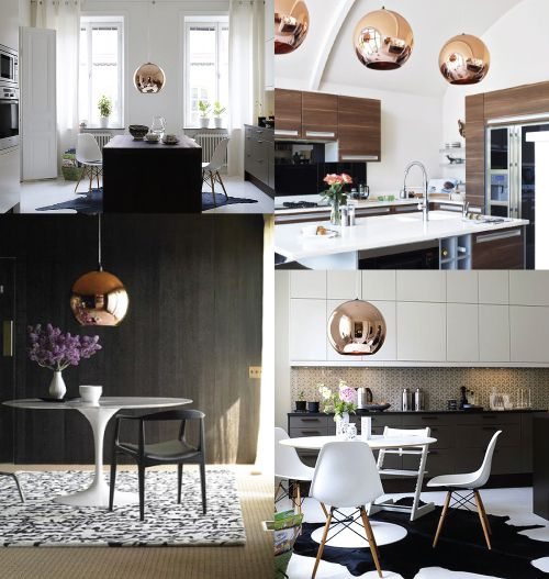 Chloe Tom Dixon Copper Shade Pendant Home Nyc Tom Dixon Copper Home Kitchens