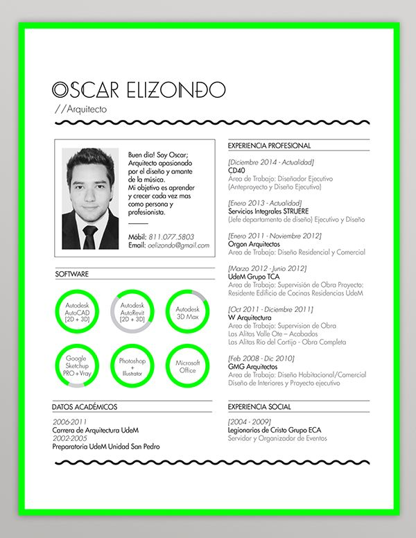 Resume // Indentity by Emmy de Leon, via Behance | Originele cv\'s ...