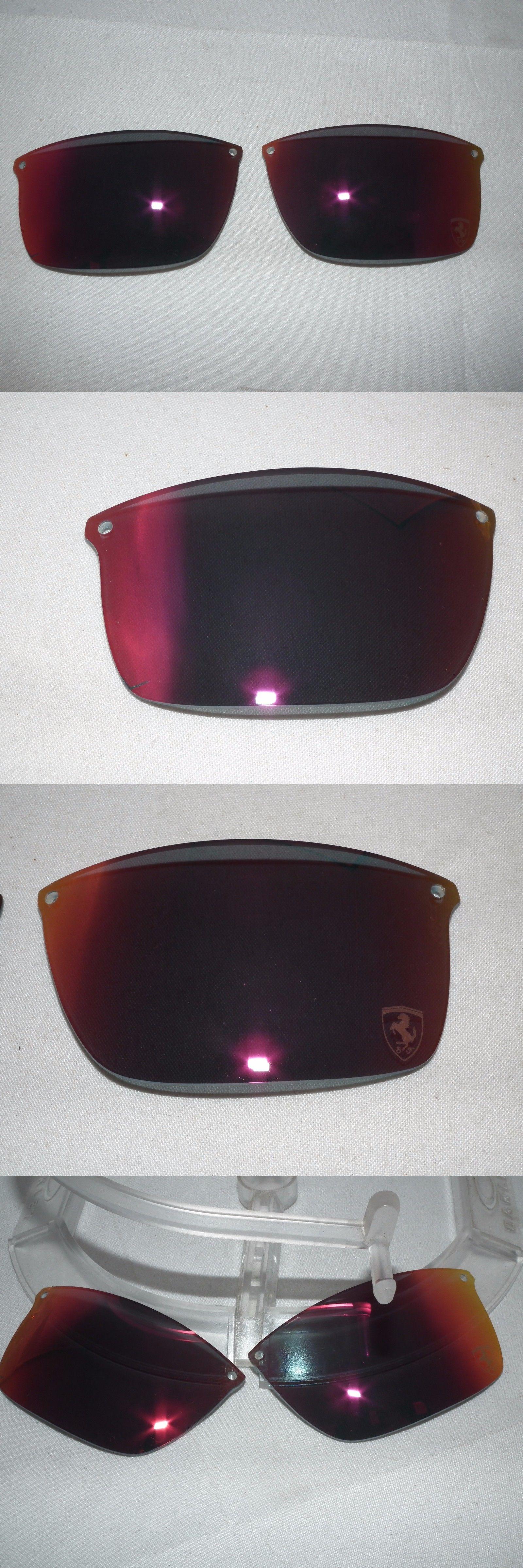 7670e5602e3 Sunglass Lens Replacements 179194  Authentic Oakley Carbon Blade  Replacement Lenses Polarized Ruby Iridium Ferrari -