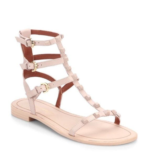 Rebecca Minkoff Georgina Blush Sandals Rebecca Minkoff Georgina Blush Sandals for sale! Brand new with box. Never worn. Purchased from Nordstrom. The color is blush which is a beautiful nude tone. Retails originally for $125.00 not including tax and selling cheaper! Rebecca Minkoff Shoes Sandals