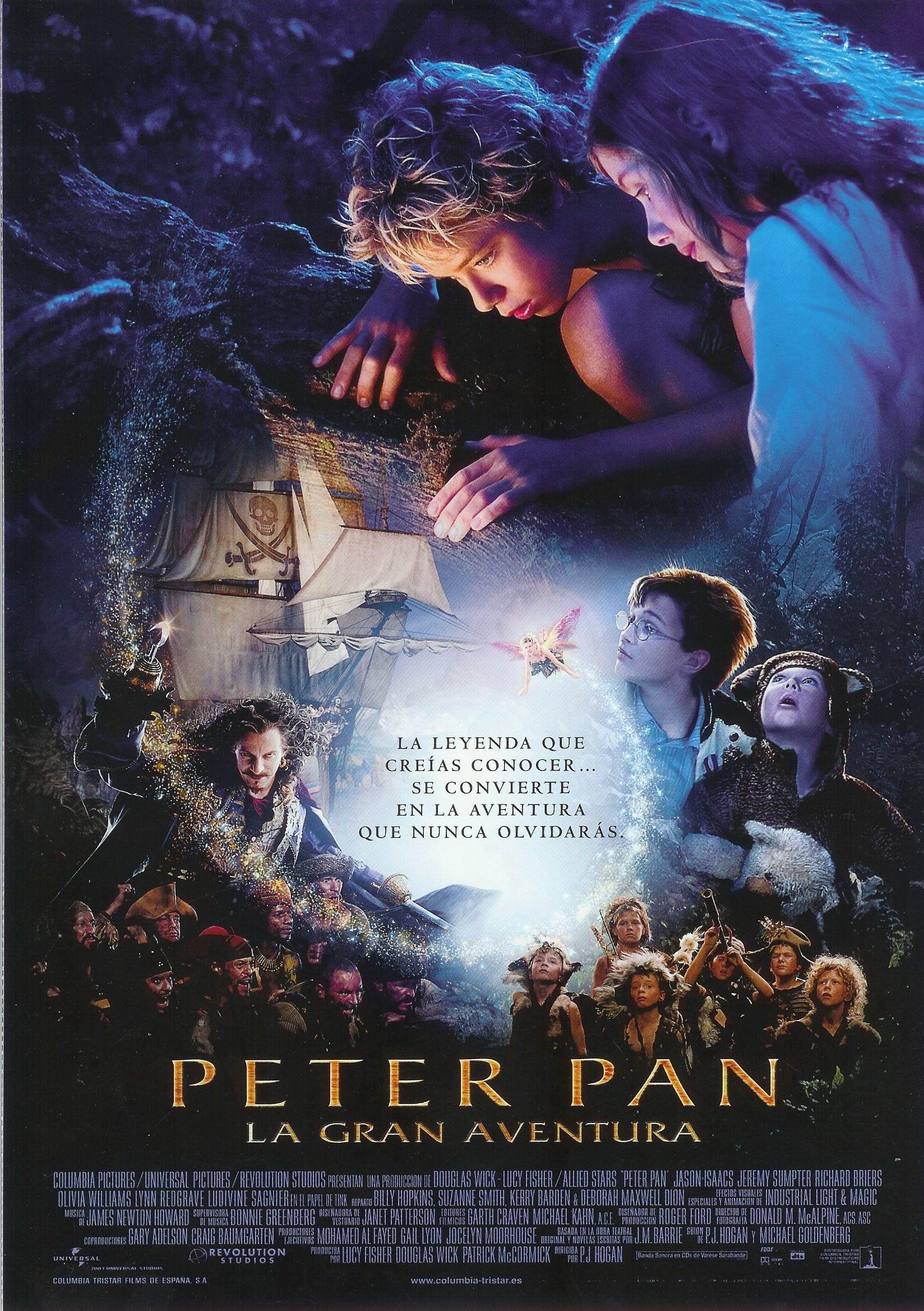 Peter Pan, La gran aventura | 2003 | Peter pan movie ...