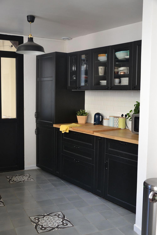 Travaux Avant Apres Transformation De La Cuisine Decoration Maison Ikea Cuisine Noi Peinture Meuble Cuisine Peindre Meuble Cuisine Meuble Cuisine