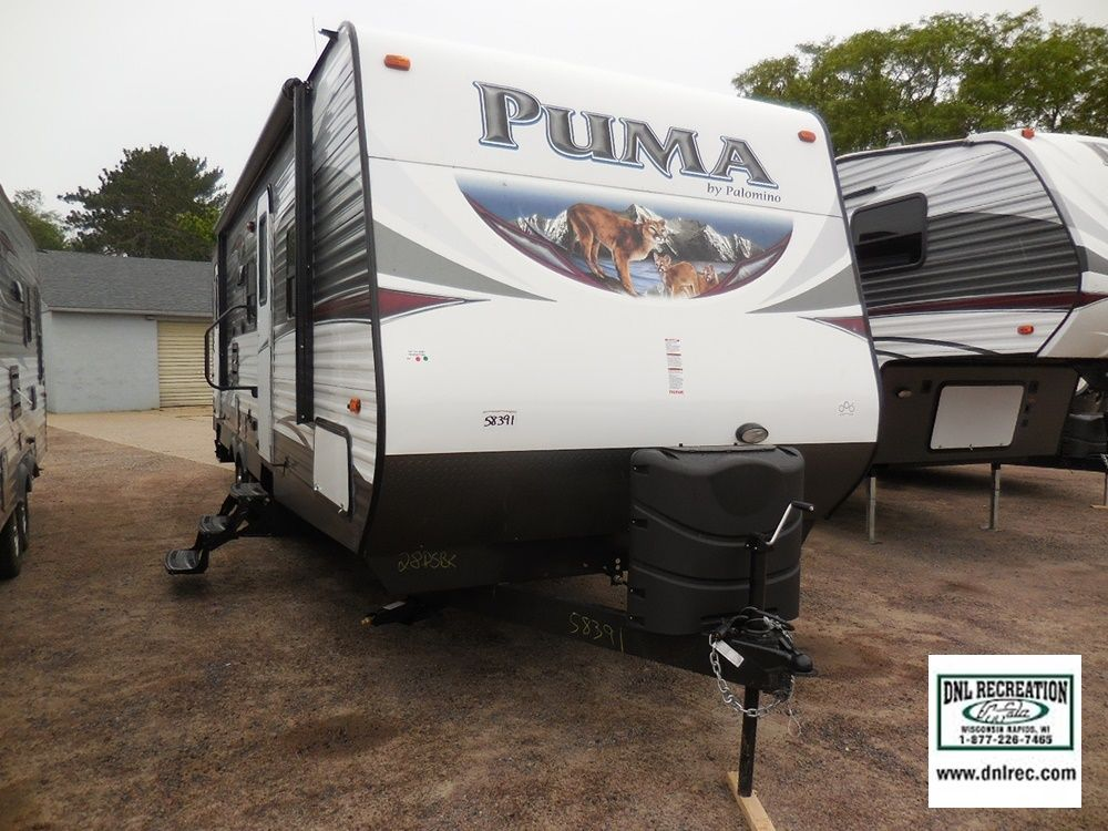 2016 Puma 28DSBS available at DNL Recreation in Wisconsin