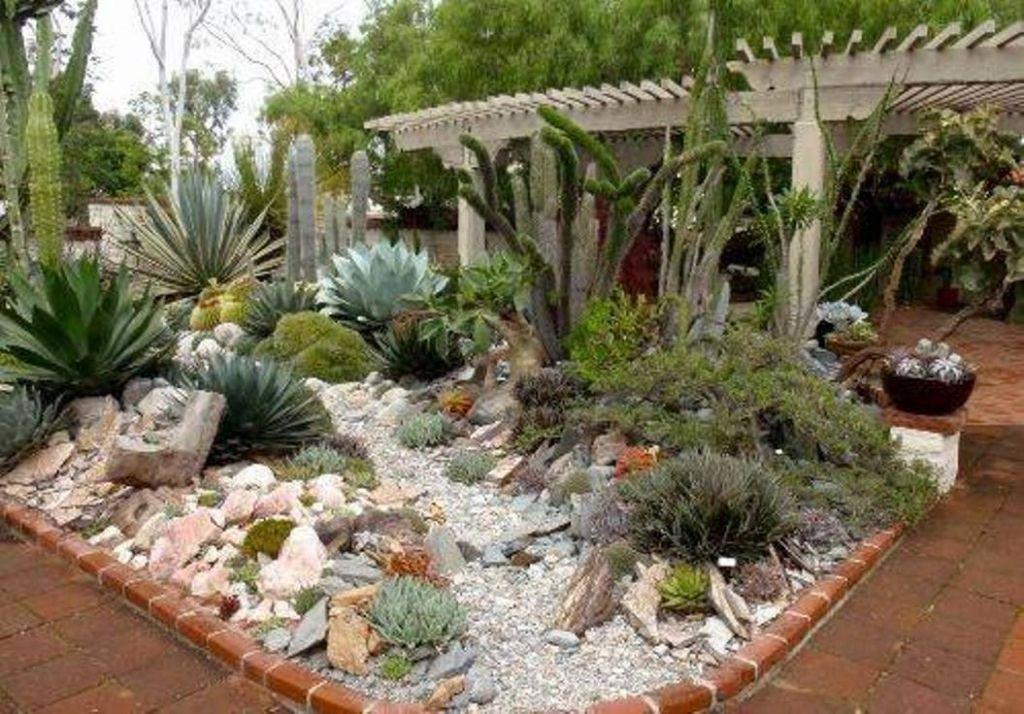 Cactus Garden Designs Cactus Outdoor Garden Design Garden And Lawn