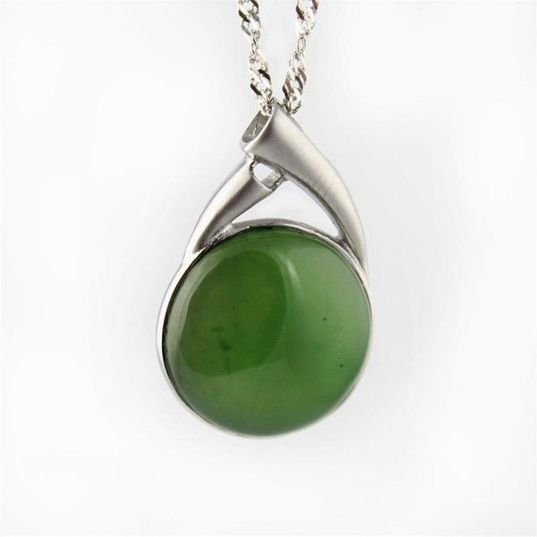 Jade round circle pendant necklace p0089st 55 liked on jade round circle pendant necklace p0089st 55 liked on polyvore featuring mozeypictures Gallery