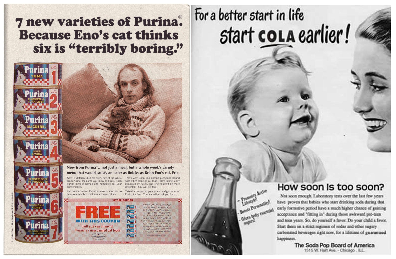 Anatomy of a ad hoax: that Brian Eno Purina cat ad? A joke, mate ...