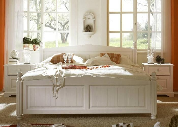 Nachtkommode Toska Kiefer massiv weiß 2er Set Dieses aktuelle Traum