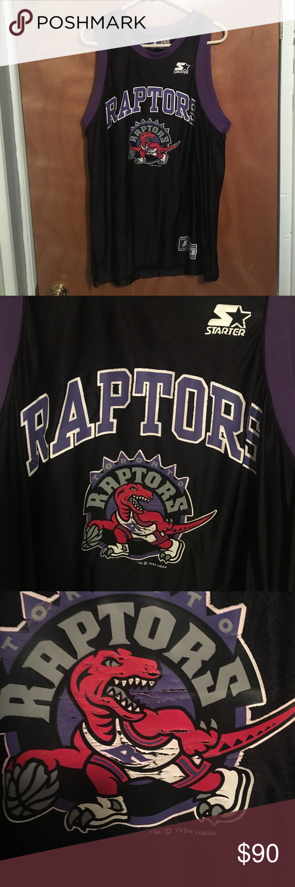 Toronto Raptors Vintage Starter Jersey NBA Toronto Raptors Vintage Starter Jersey 1994 Starter Shirts