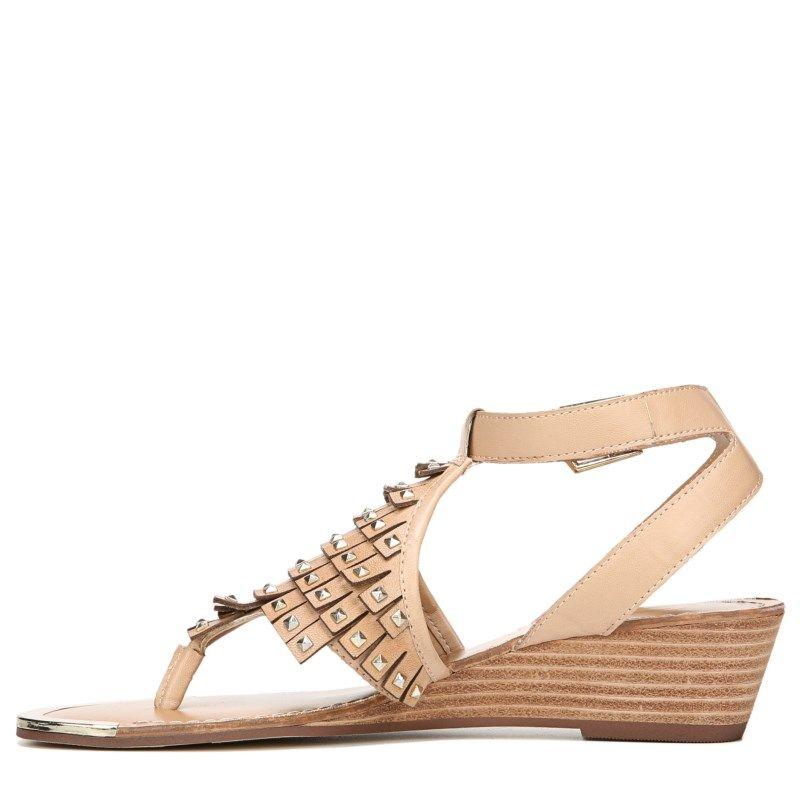 Fergie Women's Balance Fringe Sandals (Sand Dune Leather)