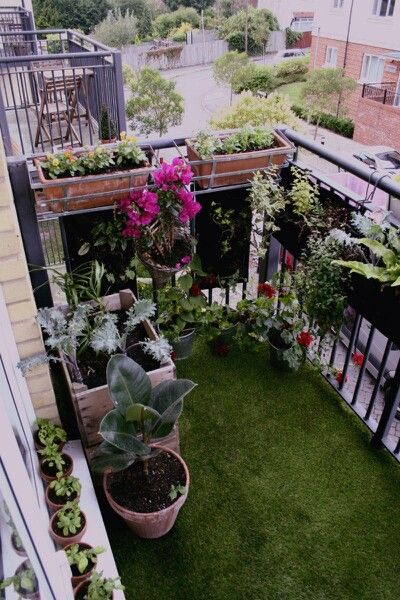 apartment patio gardens