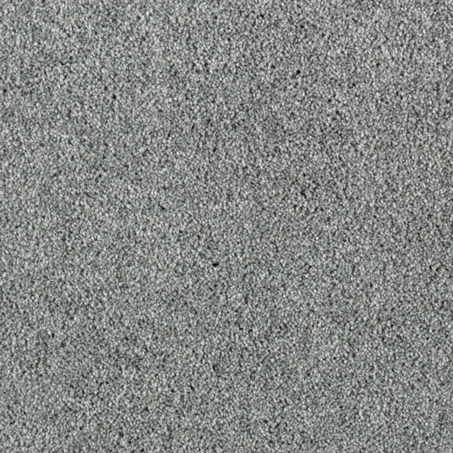 Shop Mohawk Hedgelake Fedora Grey Textured Indoor Carpet