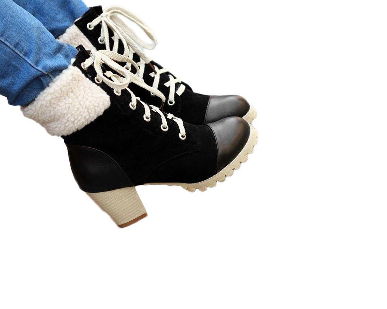 e4955b750da08 Amazon.com: Charm Foot Vintage Womens Platform Chunky Heel Western ...