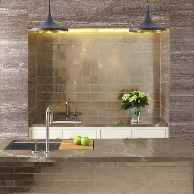 Davlin 484848 X 48 Glass Field And 4848486 X 48484848 Field In Rose Simple Ann Sacks Glass Tile Backsplash Minimalist