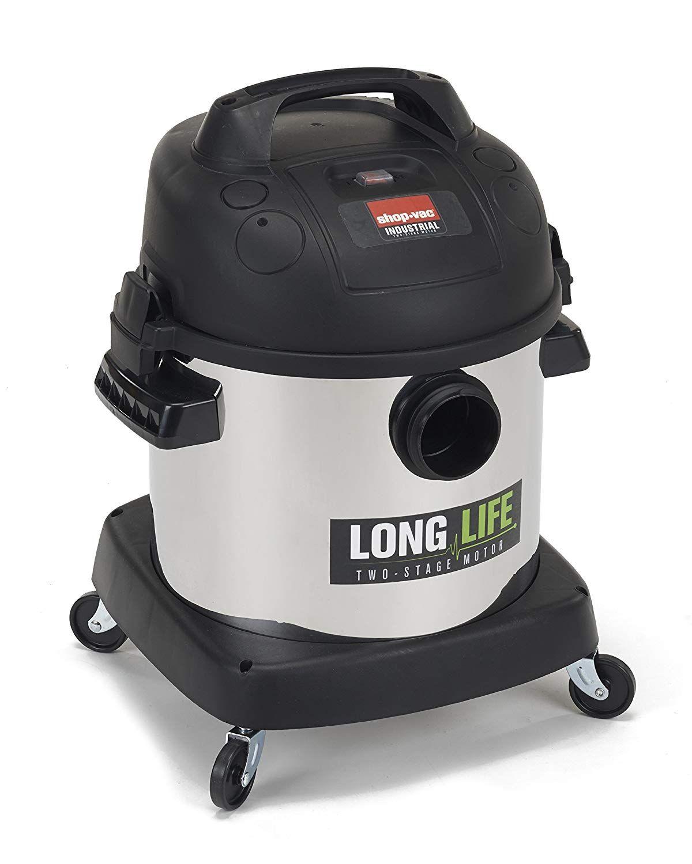 Shop Vac 9272410 2 0 Peak Hp Long Life Stainless Steel Wet Dry Vacuum 4 Gallon Wet Dry Vacuum Shop Vac Wet Dry Vac