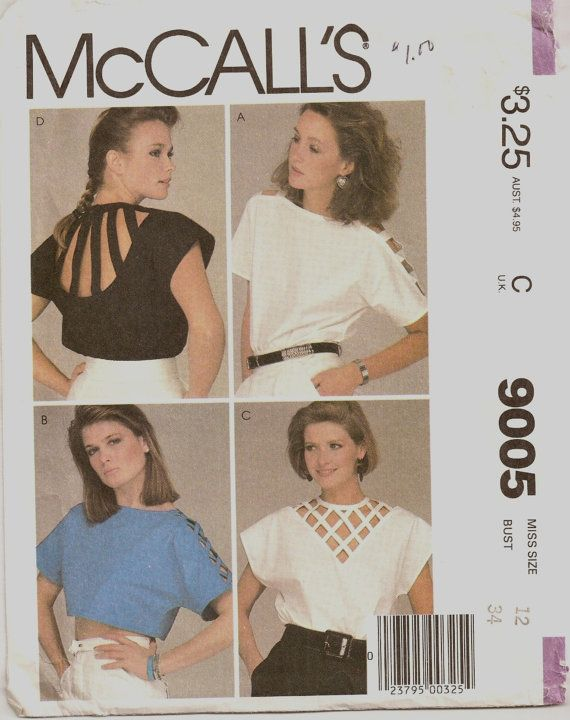 Pure 80s | Sewing Patterns | Pinterest