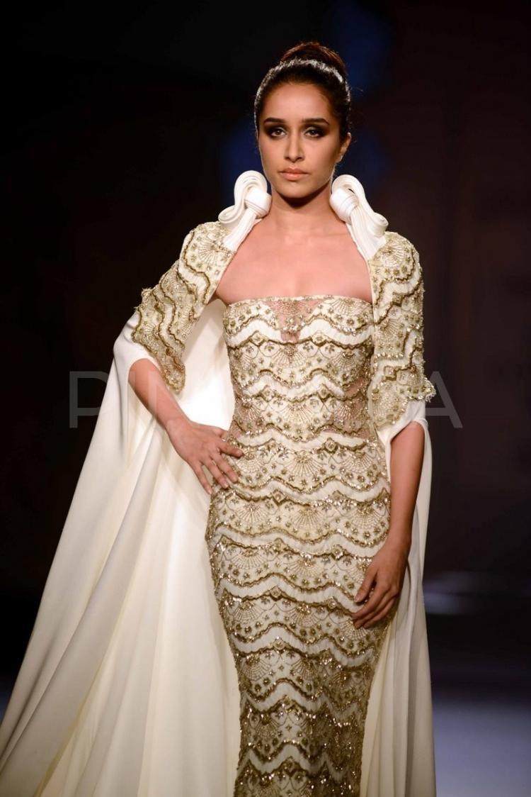 Shraddha Kapoor walks the ramp for Gaurav Gupta | PINKVILLA