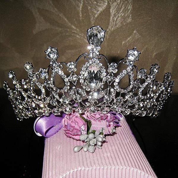 Cheap Tiaras Wedding Crowns Buy Quality Tiara For Sale Directly From China Purple Suppliers Elegance Crystal Bride Hair Accessory