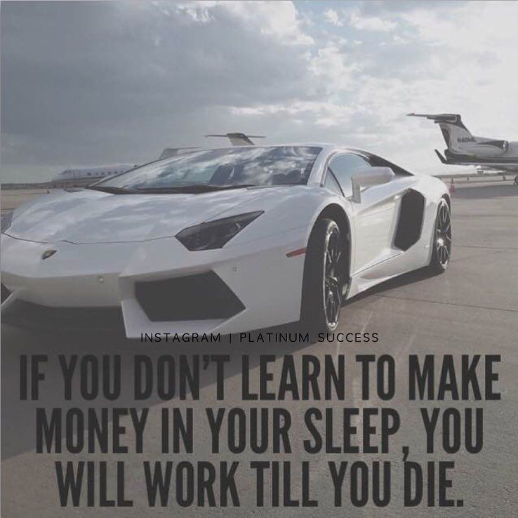 Make your money work for you not the other way around!  #PlatinumSuccess by platinum_success