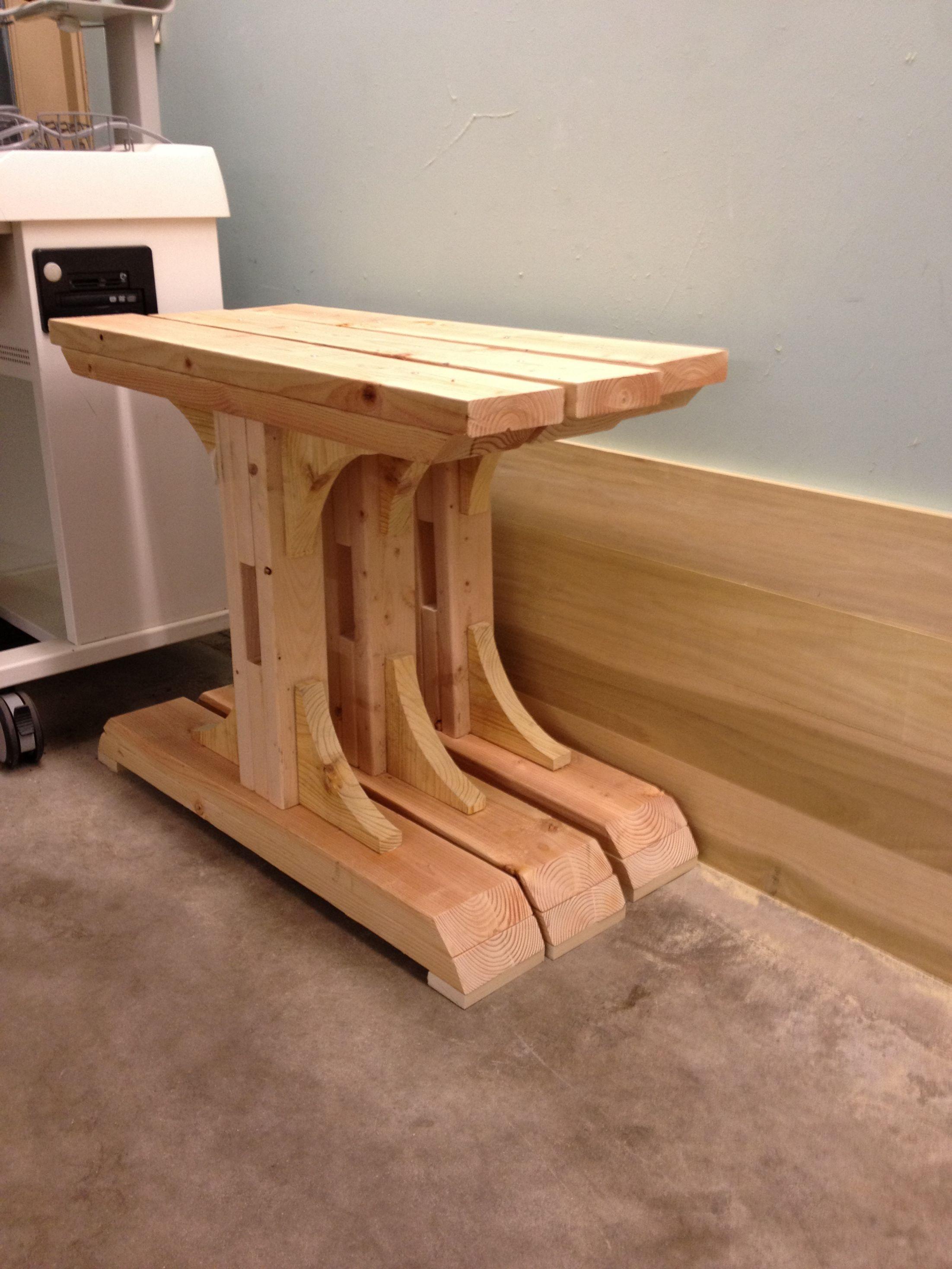 Diy double pedestal farmhouse dining room table