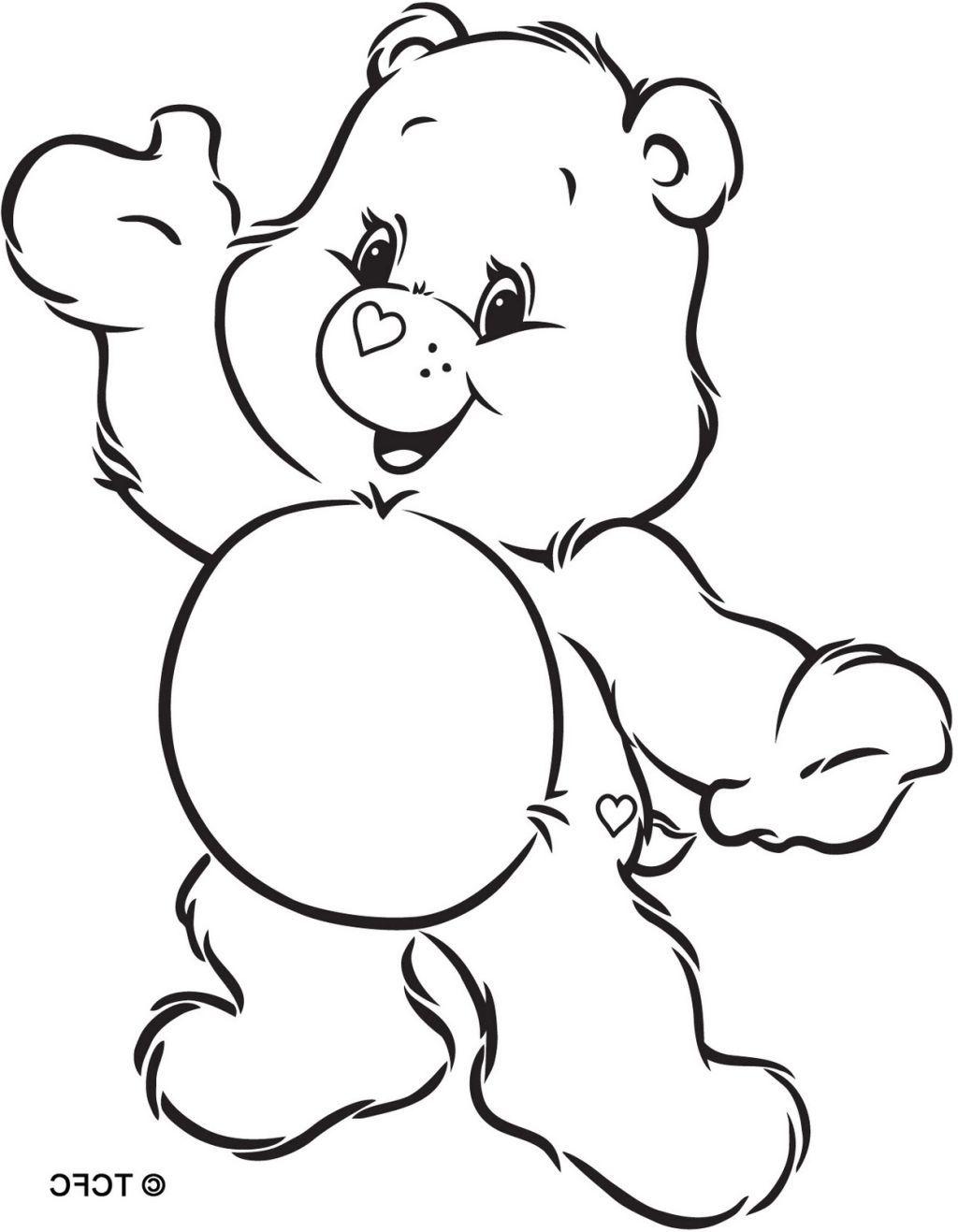 Obraz Znaleziony Dla Care Bears Coloring Bear Coloring Pages Animal Coloring Pages Coloring Books