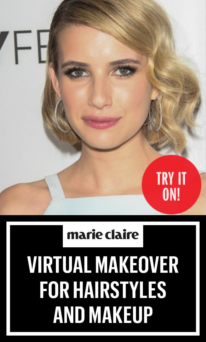 the virtual makeover for hairstyles & makeup! | hair