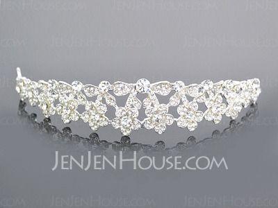 Headpieces - $22.99 - Gorgeous Alloy Clear Crystals Wedding Bridal Tiara (042004254) http://jenjenhouse.com/pinterest-g4254
