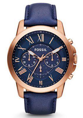 Uhren gold fossil