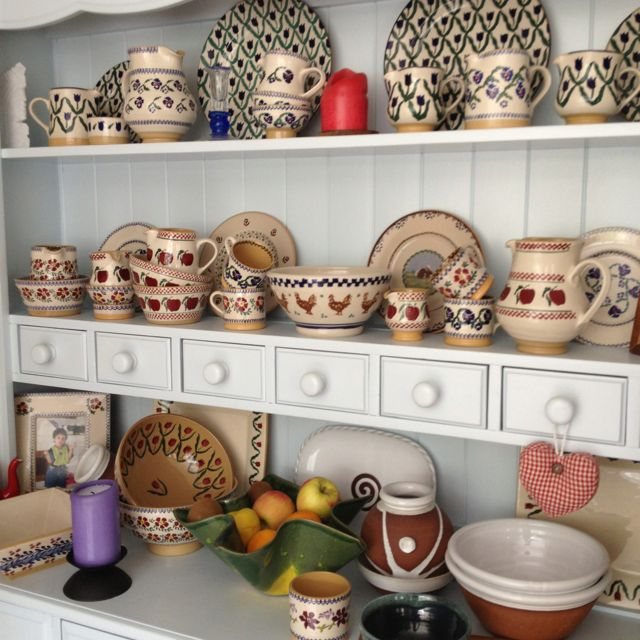 Dresser With Some Of My Much Loved N Used Nicholas Mosse Pottery Nicholas Mosse Pottery Irish Pottery Nicholas Mosse