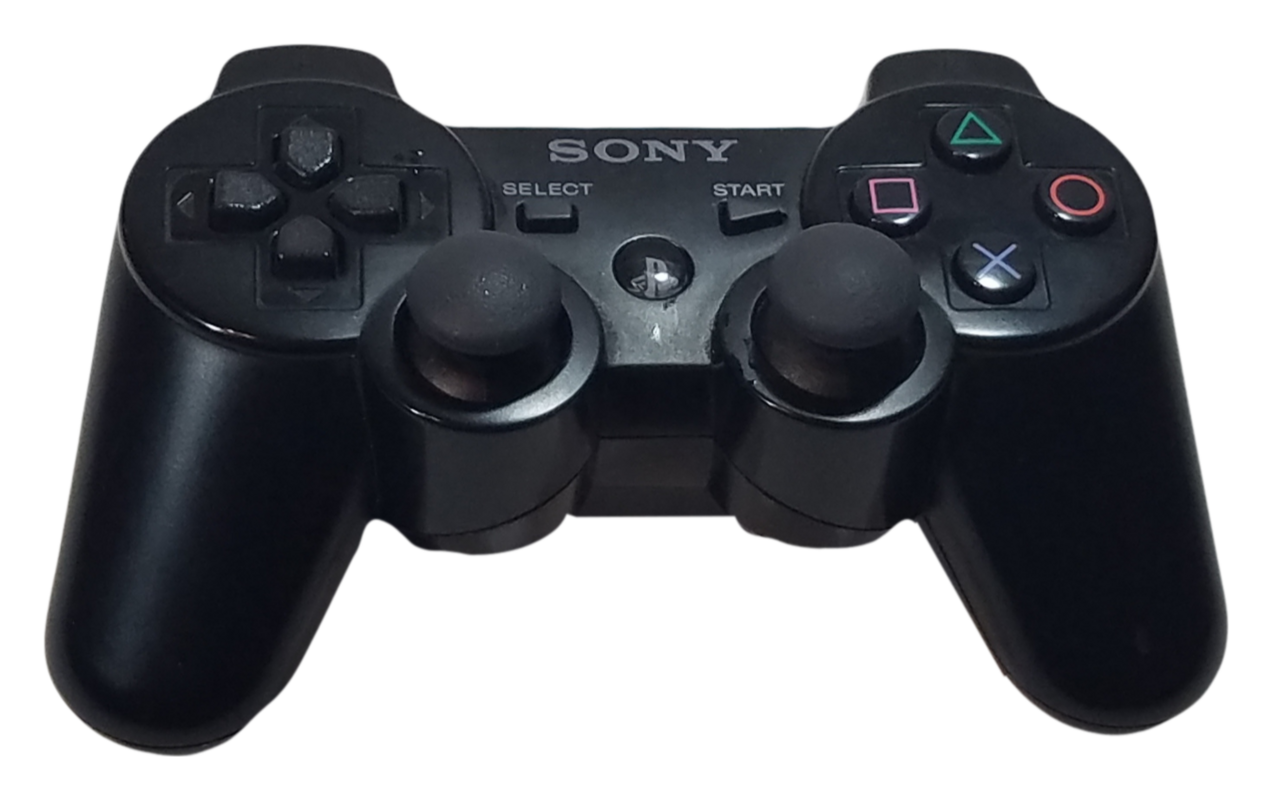 Sony Playstation 3 Dual Shock 3 Wireless Controller With Charging Cable Ps3 Black Dualshock Sony Playstation Video Game Sales
