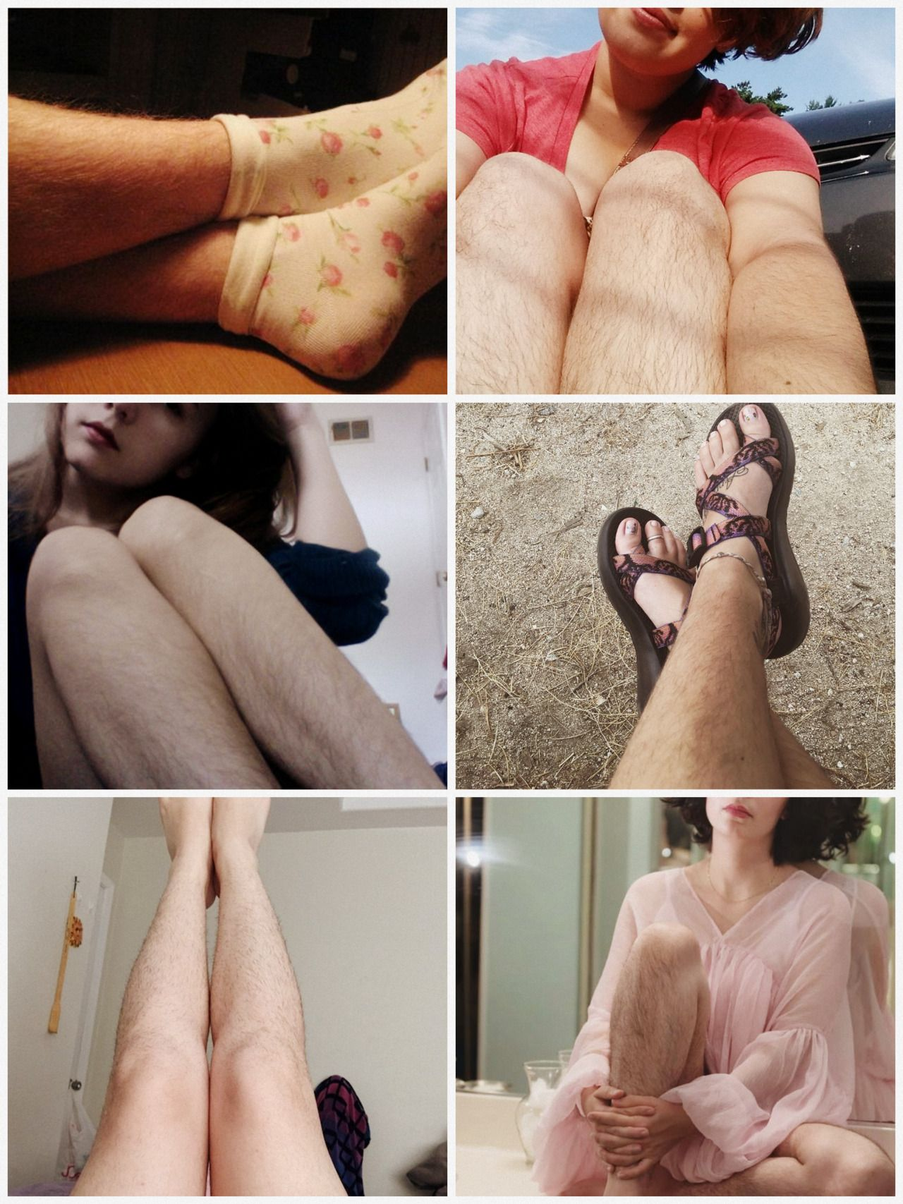 Hairy Legs Lesbians