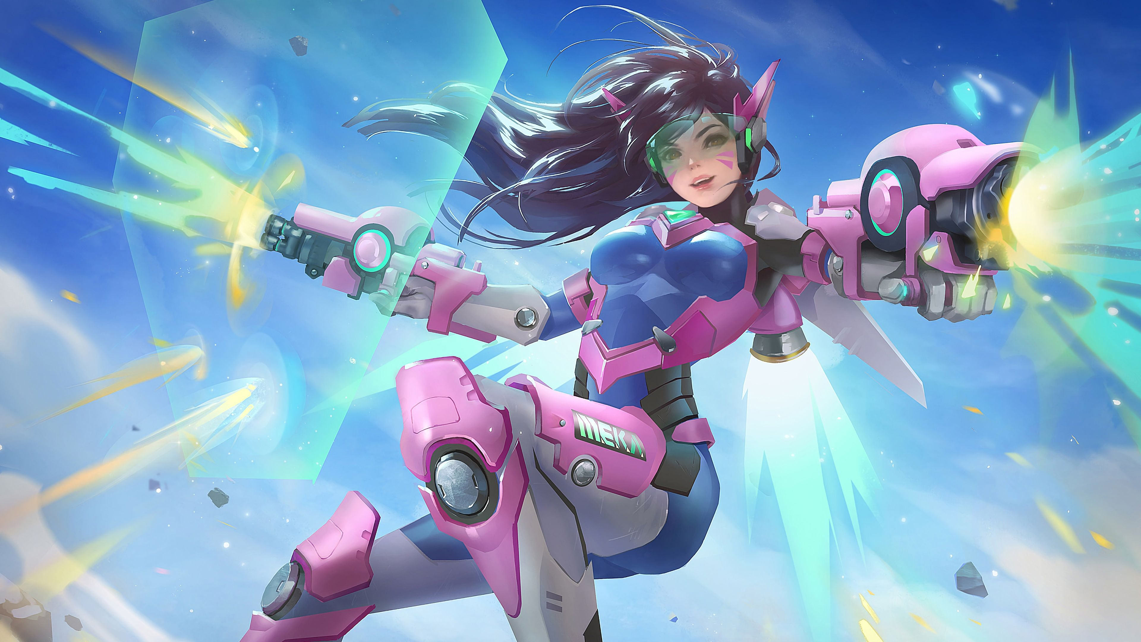 D Va Overwatch 4k 17909 Overwatch Wallpapers Overwatch Overwatch Fan Art