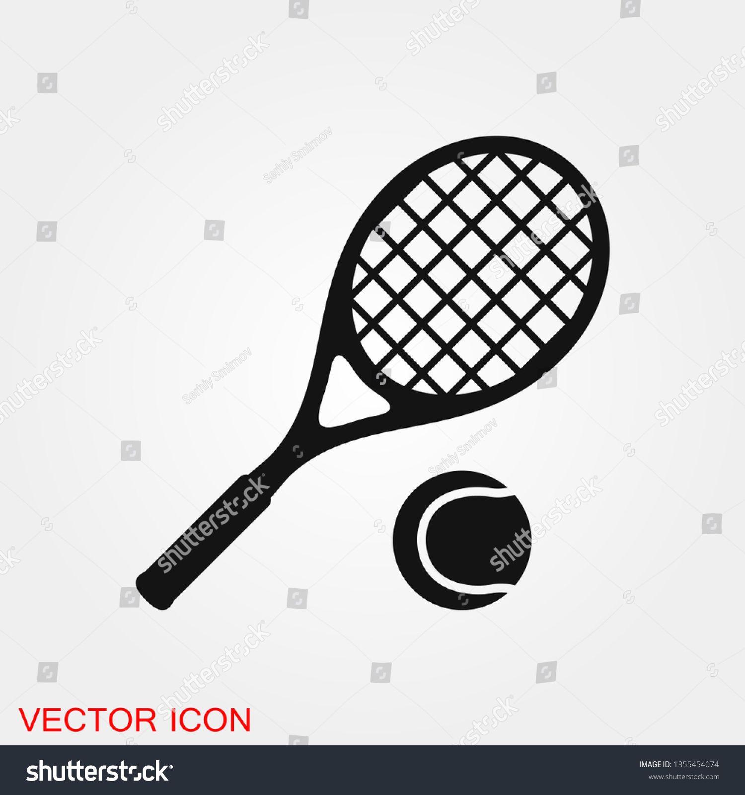 Tennis Icon Vector Sign Symbol For Design Sponsored Ad Vector Icon Tennis Design Symbol Design Icon Set Vector Vector