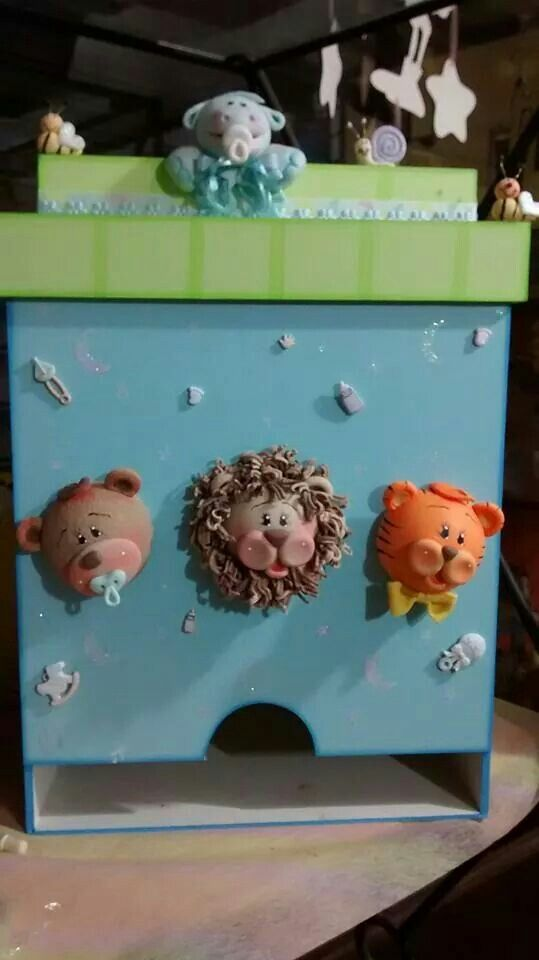 Pañalera | Porcelana fría animales | Pinterest | Pañalera, Porcelana ...